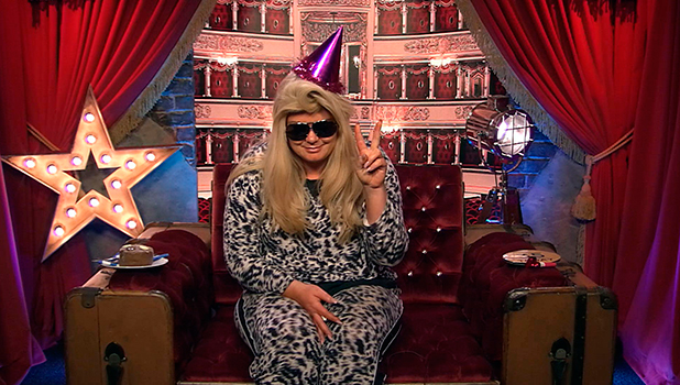 CBB Day 26: Gemma Collins celebrates her birthday in the Big Brother house 1 February 2016