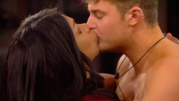 CBB Day 25: Tiffany gets a kiss from Scotty