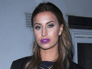 Ferne McCann makes a style statement in fierce over-the-knee boots