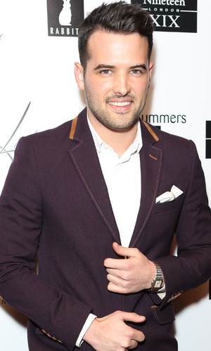 Ricky Rayment attends Lady Nadia's Valentine's event, Gilgamesh, London 11 February