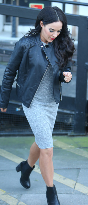 Celebrity Big Brother's Stephanie Davis outside ITV Studios in London, 9th February 2016