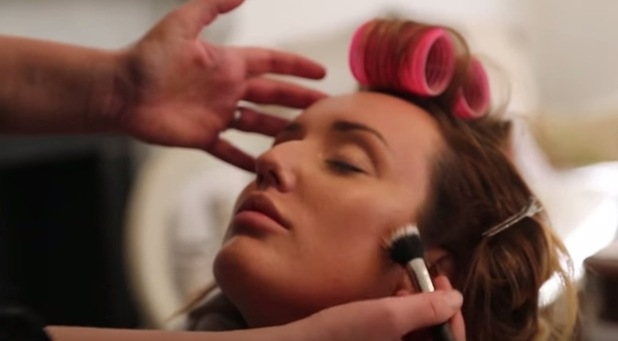 Geordie Shore's Charlotte Crosby posts new make-up tutorial to YouTube, contouring, 11th February 2016