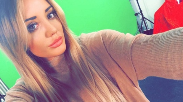 Charlotte Crosby shows off nose job results 10 February