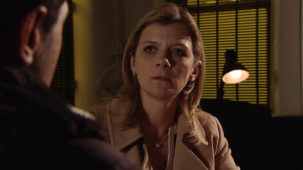 Corrie, Leanne reports Simon, Wed 10 Feb