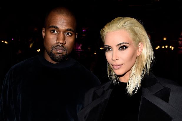 Kim Kardashian and Kanye West attends Paris Fashion Week, debuts new blonde hair, Instagram 8th February 2016
