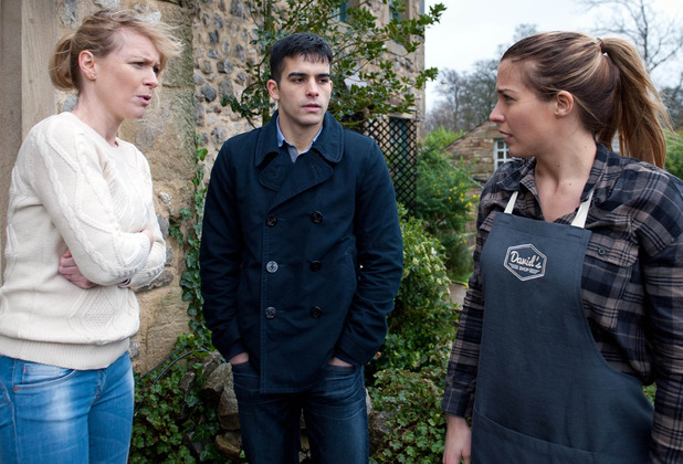 Emmerdale, Carly tells Vanessa about Kirin, Wed 10 Feb