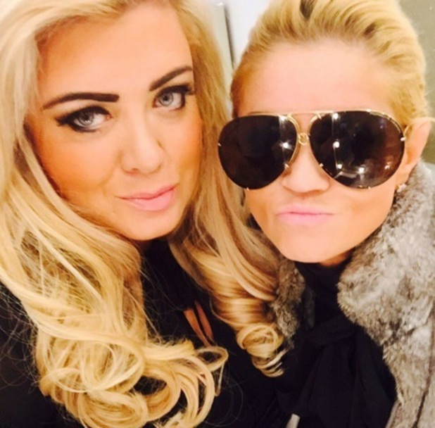Gemma Collins and Danniella Westbrook, Twitter 9 February