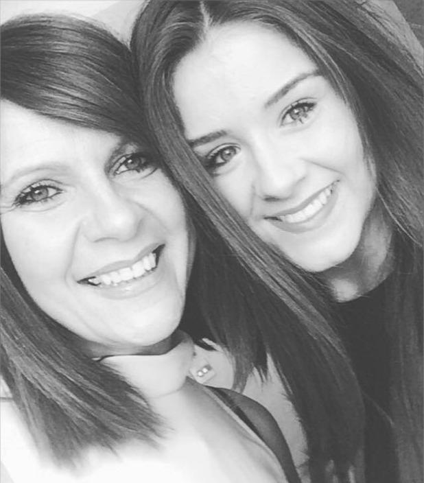 Brooke Vincent Blog: Brooke and her mum 12 February