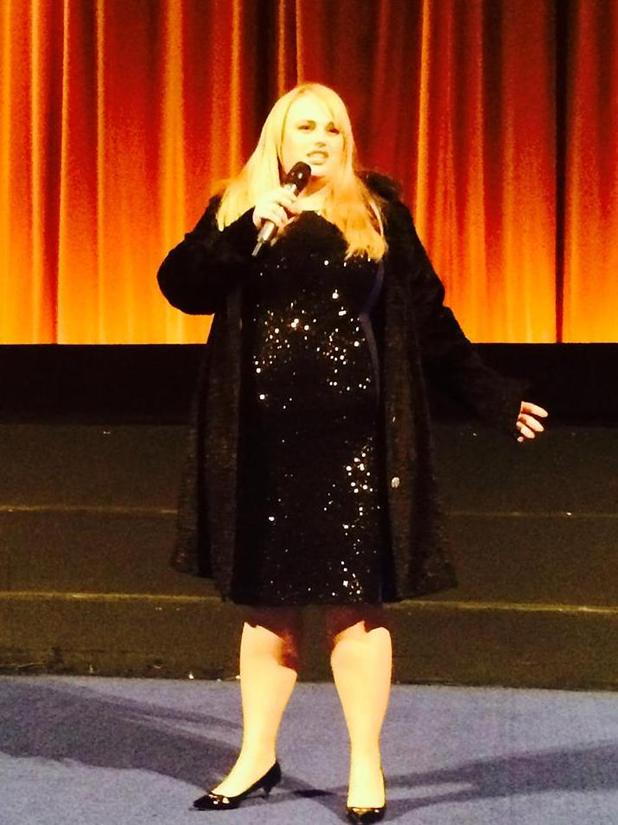Rebel Wilson at the How to Be Single multimedia screening in London on February 12, 2016.