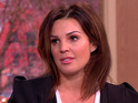 Danielle Lloyd appearing on ITV's This Morning 9 February 2016