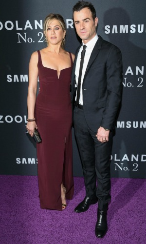 """Paramount Pictures & Vogue Present the World Premiere of """"ZOOLANDER 2"""" February 09, 2016 - Alice Tulley Hall - Lincoln Center - New York - NY Jennifer Aniston and Justin Theroux"""