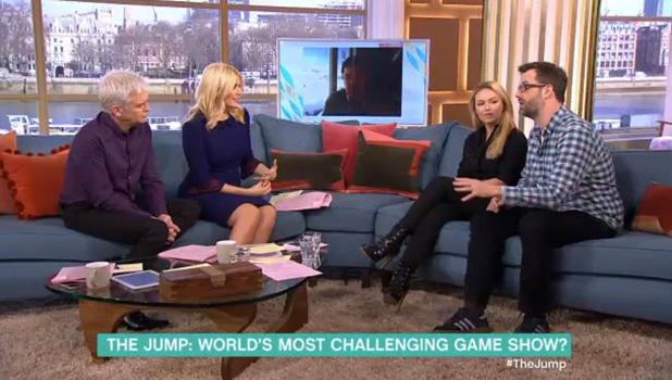 This Morning: Marcus Brigstocke, Ola Jordan talk about The Jump 11 February 2016