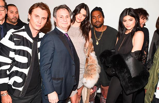 Kendall Jenner, Jonathan Cheban, Jason Binn, Kanye West, Kylie Jenner 8 Feb 2016