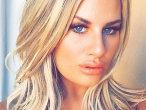 Danielle Armstrong selfie in Gran Canaria 16 February