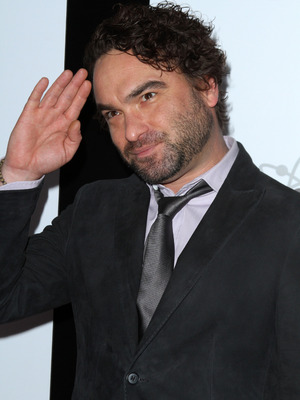 Johnny Galecki attends The Big Bang Theory 200th episode party held at Vibiana, LA, 20 February 2016.