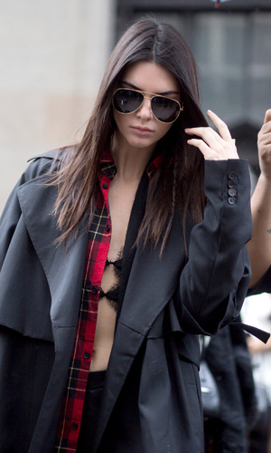 Keeping Up With The Kardashians star Kendall Jenner spotted out and about in New York, 16th February 2016