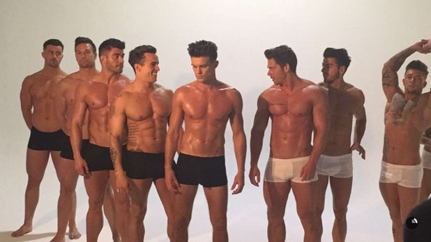 Gary Beadle joins The Dreamboys for photoshoot 18 February