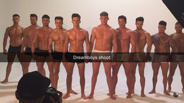 Gary Beadle and Scotty T with The Dreamboys 18 February
