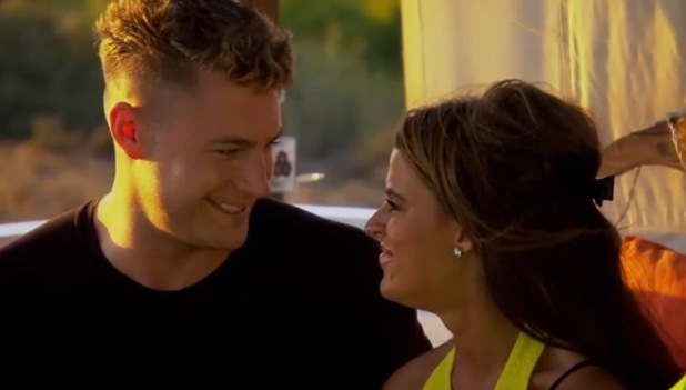 Scotty T and Nancy-May Turner, Ex On The Beach 16 February