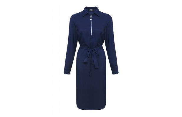 AX Paris navy shirt dress £30, 16th February 2016