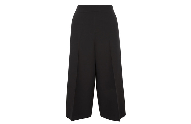 Black Crepe Culottes, £14.99, New Look 19th February 2016