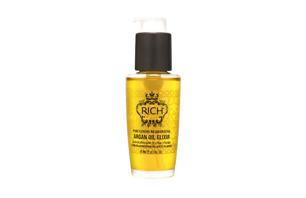 RICH Haircare Argan Oil Elixir £14.90, 15th February 2016