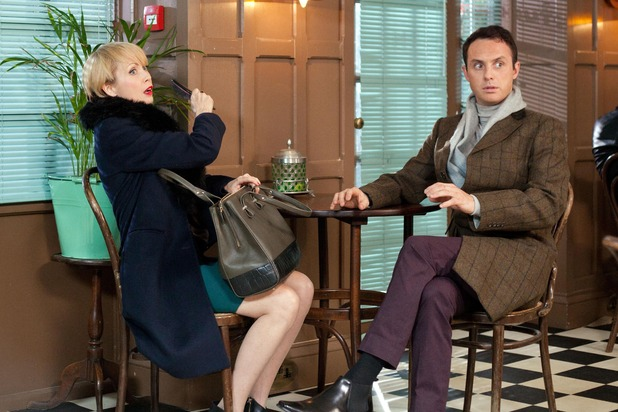 Hollyoaks, Marnie and James cause trouble, Tue 16 Feb