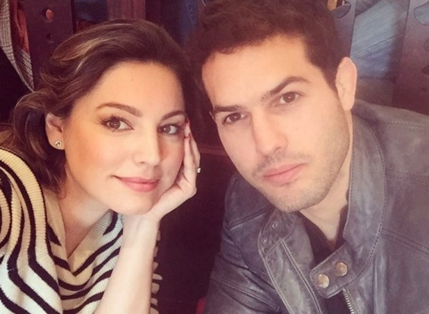Kelly Brook and Jeremy Parisi selfie, Instagram 19 February