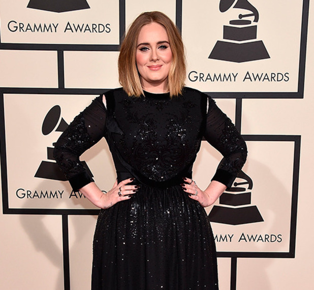 Adele attends The 58th GRAMMY Awards at Staples Center on February 15, 2016 in Los Angeles, California. (Photo by John Shearer/WireImage)