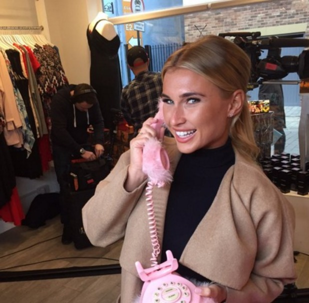 Gemma Collins films return to TOWIE for 200th episode 17 February 2016