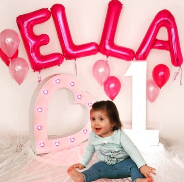 Jacqueline Jossa shares photo of daughter Ella on first birthday 15 February