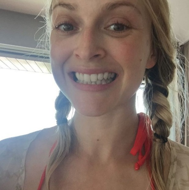 Fearne Cotton reveals her beauty 'imperfections' on Instagram, 17 February 2016