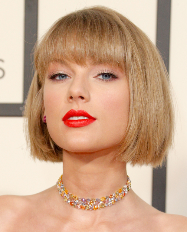Taylor Swift attends The 58th GRAMMY Awards at Staples Center on February 15, 2016 in Los Angeles, California.