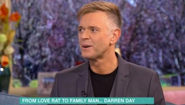 Darren Day appears on This Morning, 19 February 2016