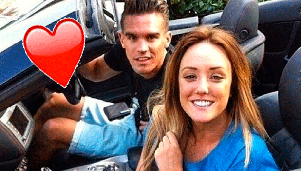 Charlotte Crosby and Gary Beadle 6 August