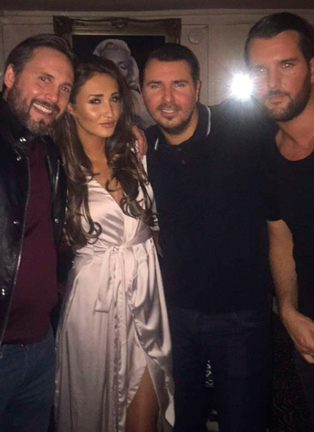 Megan McKenna parties at Sheesh Chigwell, Essex 17 February 2016