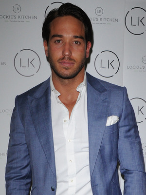 James Lock at the launch of his restaurant Lockie's Kitchen, Romford 22 February