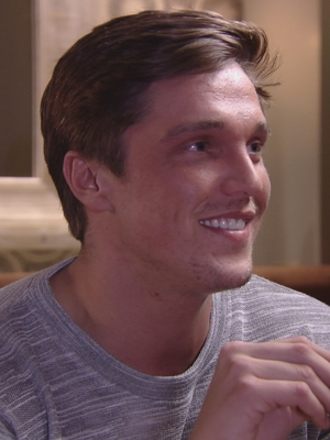 The Only Way Is Essex: Lewis Bloor gets the cold shoulder. Series 17, episode 1. 28 February 2016.