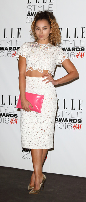 Ella Eyre attends the ELLE Style awards 2016, London, 24th February 2016