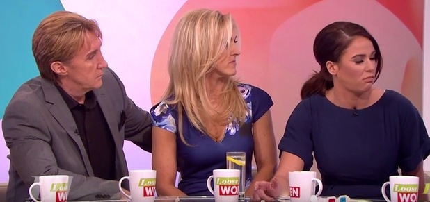 Vicky Pattison is put off Gin and Tonic by The Speakmans, Loose Women 23 February