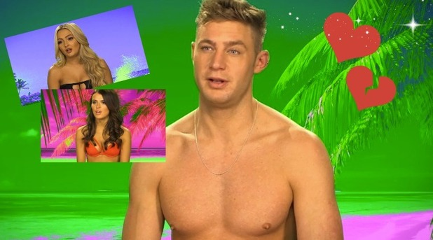 Scotty T, Nancy-May Turner and Lacey Fuller - Ex On The Beach 23 February