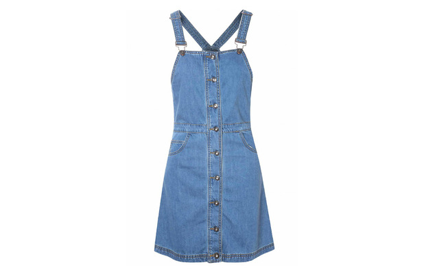 Glamorous Pinafore dress £32, 24th February 2016
