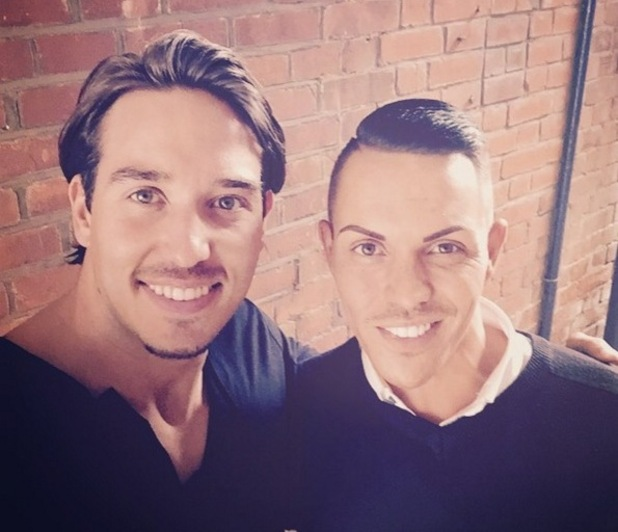 Bobby Norris and James Lock selfie, Instagram