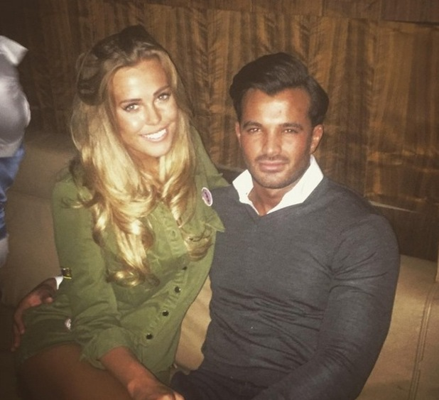Chloe Meadows and Mike Hassini at DSTRKT London 24 Feb 2016