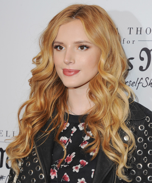 Bella Thorne arrives at Bella Thorne Hosts Miss Me And Cosmopolitan's Spring Campaign Launch Event at The Terrace at Sunset Tower on February 3, 2016 in West Hollywood, California