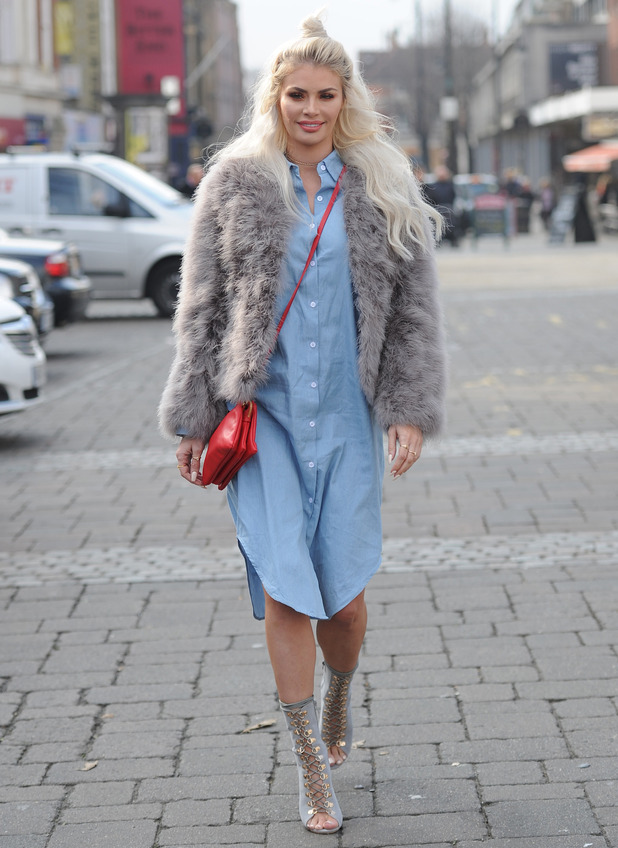 The TOWIE cast film at Lockies Kitchen , 25th February 2016