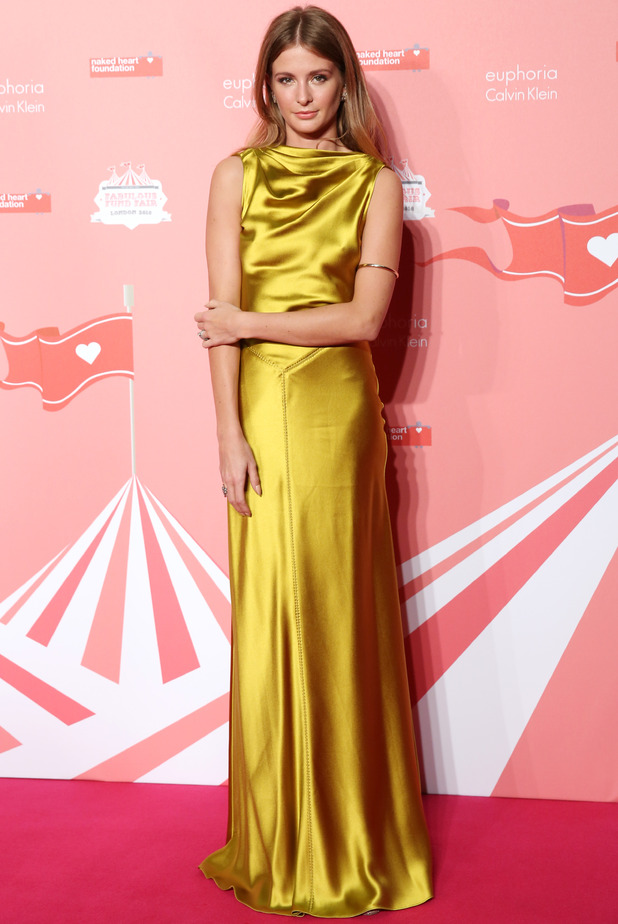 Millie Mackintosh at London's Naked Heart Foundation's Fabulous Fund Fair 2016 held at Old Billingsgate - 20 February 2016