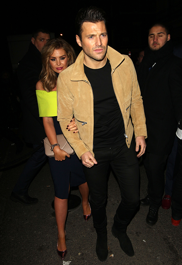 Mark and Jessica Wright at the Sony After Party 24 Feb 2016