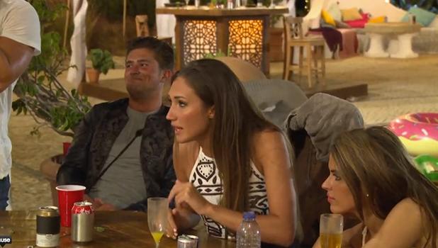 Ex On The Beach Bonus Scene: Megan defends Gina 23 February 2016