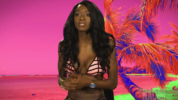 Ex On The Beach: Megan and Naomi talk about row 23 February 2016